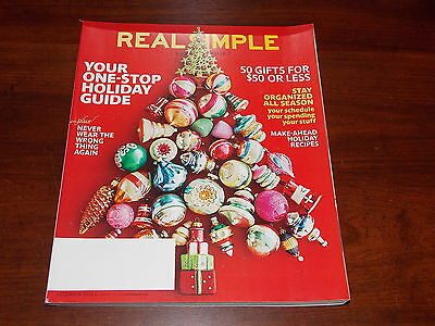 REAL SIMPLE MAGAZINE December 2016 Our Gift To You For A