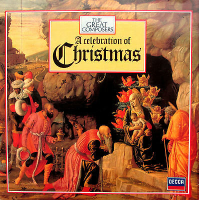 A Celebration Of Christmas 1982 EXCELLENT (no booklet ) DECCA 410 238-1
