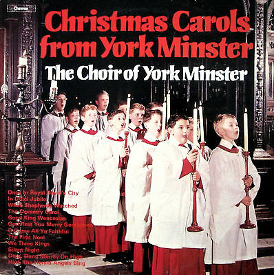 Christmas Carols From York Minster 1979 EXCELLENT