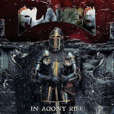 """Flames -12"""" LP- In Agony Rise"""