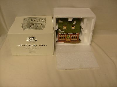 White Horse Bakery Dickens Village Series Dept Department 56 Holiday Display MIB