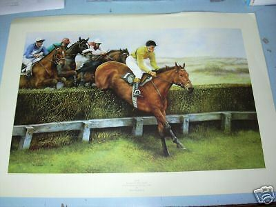Arkle 1966 Cheltenham Gold Cup Limited Edition Max Brandrett Print New Racing