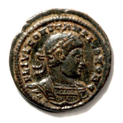 Bronze Follis of Emperor Constantine II - Wonderfully Sharp with COA.