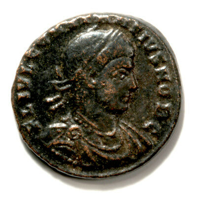 Marvelous Bronze Follis of Emperor Constantine II with COA.