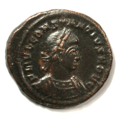 Sharp Bronze Follis of Emperor Constantine II with COA.