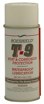 SPRAY BOESHIELD BICYCLE T.9 RUST CORROSION PROTECTION WATERPROOF CHAIN LUBE 4oz