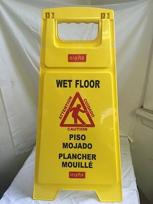 6-Harper Wet Floor Signs Brand New In The Box