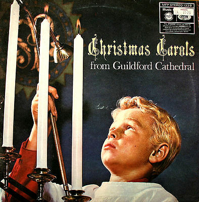 Christmas Carols from Guildford Cathedral 1966 EXCELLENT