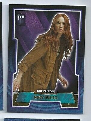 2015 Dr. Who Tardis GOLD variant 25 Amy Pond