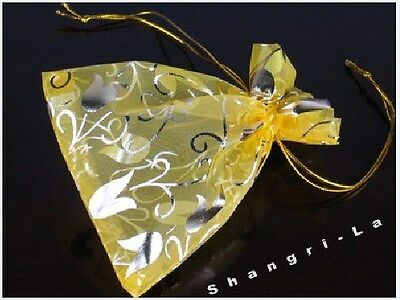 Wholesale 100 Organza Gift Pouches Bags 3.5''x4.7'' B2