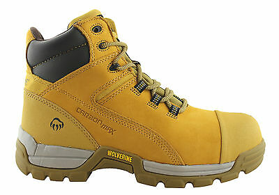 Wolverine Tarmac 6 Inch Lace Up Mens Steel Toe/laceup Safety Boots/comfortable
