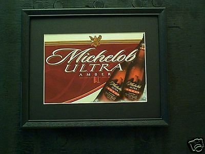 Michelob Ultra Amber  Beer Sign   #395