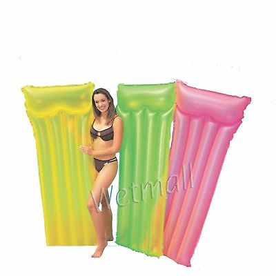 Intex Neon Frost Air Mat Inflatable Pool Lounge Raft