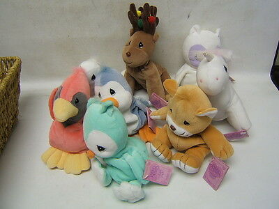 Precious Moments Tender Tails Plus Lot of 8 with Hang Tags