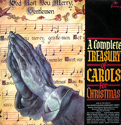 A Complete Treasury Of Carols For Christmas 1965 Vinyl LP
