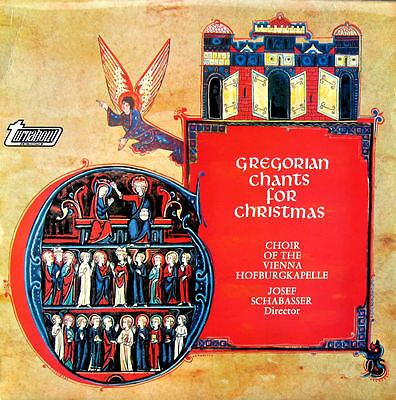 Gregorian Chants For Christmas 1968 Stereo LP