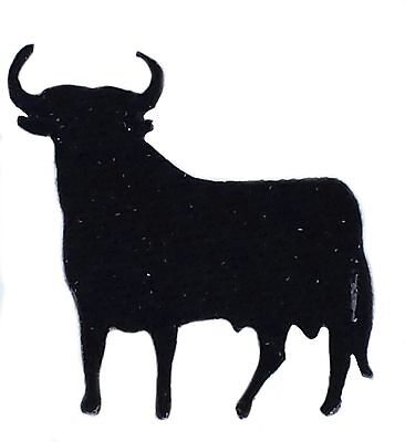 SPAIN SPANISH INSIGNIA Flag BULL TAURUS iron on glue patch patches NEW
