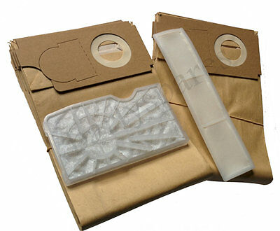 Service Kit for Sebo BS36 BS46 Vacuum Cleaner Hoover Ten Dust bags & 2 Filters
