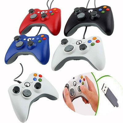 Durable Wired USB Game Pad Joypad Controller for Microsoft Xbox 360 Slim PC Play