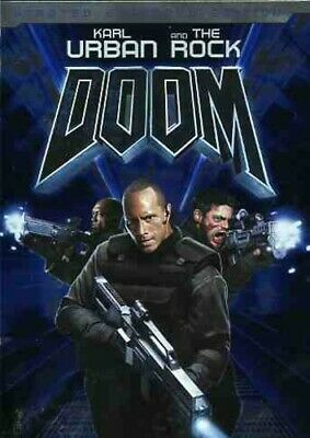 DOOM DVD w/BONUS FEATURES (UNRATED EXTENDED EDITION) - THE ROCK
