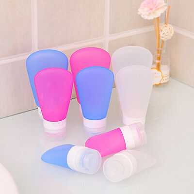 New Silicone Travel Bottles Shampoo Shower Gel Lotion Sub-bottling Tube Squeeze