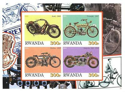 (030192) Motorcycle, Bicycle, Rwanda - private issue -