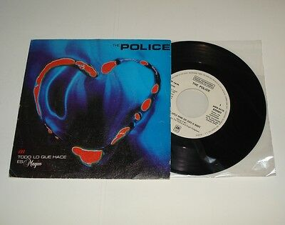 """THE POLICE Every little thing she does is magic - Rare PROMO 7"""" Spanish single"""
