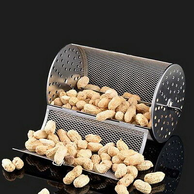 NEW 2lb Capacity Green Coffee Beans Peanut BBQ Rotisserie Roaster Drum Oven Y