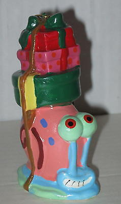 "Spongebob Squarepants ""Gary"" Ceramic Christmas Ornament Approx 4"""