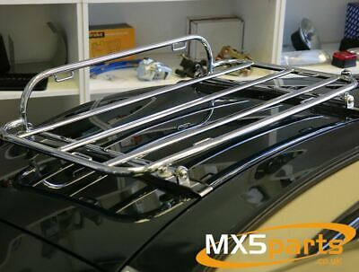 MX5 Boot Luggage Rack Carrier Chrome Stainless Steel Mazda MX-5 Mk2 2.5 NB 98>05
