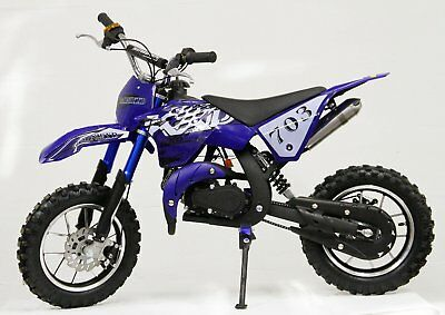 Dirt Bike / Pocket Cross - KXD-703 - 10 Zoll Räder - schwarz