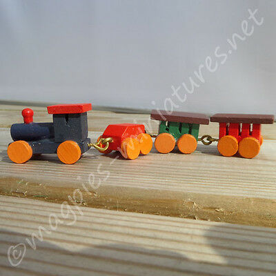 doll house 12th scale Toy Train Wooden