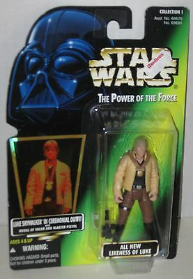 1996 Luke Skywalker in Ceremonial Gear Sealed Kenner FREE Shipping