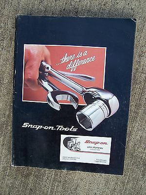 1985 Snap-On Tool Catalog ..There Is a Difference  MORE TOOL ITEMS IN STORE  U