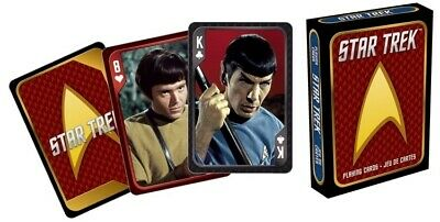 Star Trek The Original TV Series Photo Illustrated Playing Cards, NEW SEALED