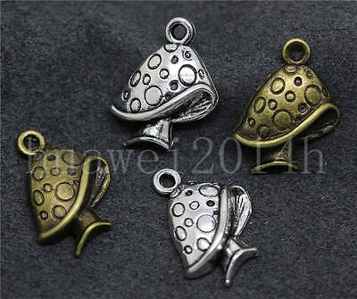 New 10//40//200pcs Antique Silver Beautiful hippocampus Charms Pendant DIY 29x12mm