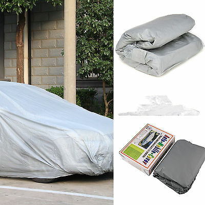 Universal Small Size S Full Car Cover UV Protection Waterproof Breathable New BY