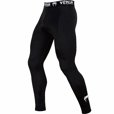 "Venum Compression Spats ""Contender 2.0"" black, 2038.  S-XXL. MMA. Training."
