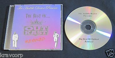 The Audible Doctor 'Best Of Outkast Remixed' Promo Cd