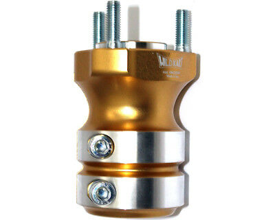 Wildkart Rear Hub 30mm x 95mm Medium Gold UK KART STORE