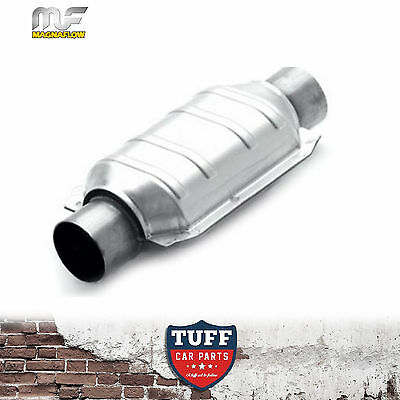"""Magnaflow 3"""" 200 CPI Metal Core Stainless Steel Cat Catalytic Converter Oval New"""