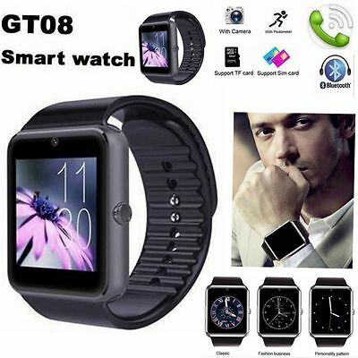 GT08 Polso Orologio Intelligente Bluetooth Smart Watch Per Android Samsung IOS