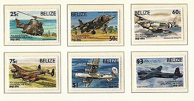 (80618) Belize MNH RAF 75 years - unmounted mint