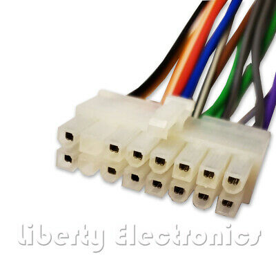 NEW CAR STEREO WIRE HARNESS for PIONEER DEH-P640 / DEH-P6400 ...