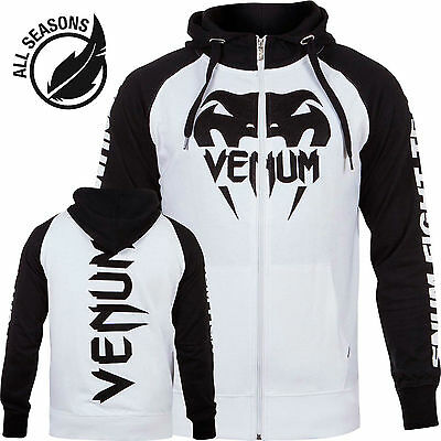 "Venum Hoody ""Pro Team 2.0"" lite series white. S-XXL. MMA. Jose Aldo. Machida."