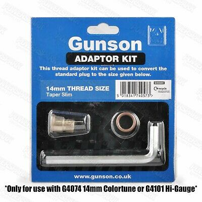 Colortune & Compression tester 14mm slim taper thread adaptor kit 4055C