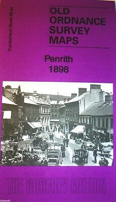 Old Ordnance Survey Detailed Maps Penrith Cumberland 1898 Godfrey Edition Offer