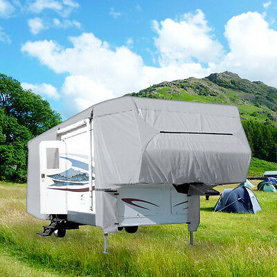 4 Layer Covers 5Th Wheel Travel Trailer Rv Motorhome Camper - Length 33' - 37'