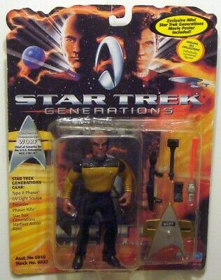 Star Trek Generations / Enterprise - Lieutman Commander Worf / Playmates
