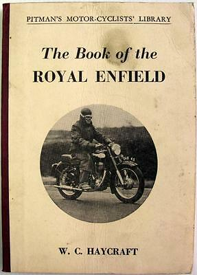Book of the ROYAL ENFIELD 1946-1958 - Motorcycle Handbook -#F1-(T.4211)- PITMANS